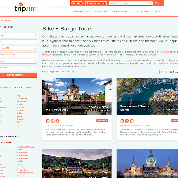 Tripsite Website